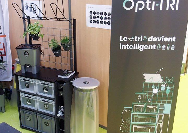 On vous présente le meuble Optitri en différentes tailles. Il s'adapte à votre i…